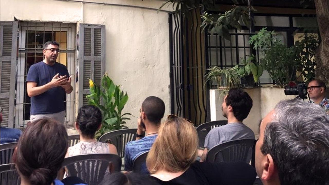 Beirut Printmaking Studio Garden