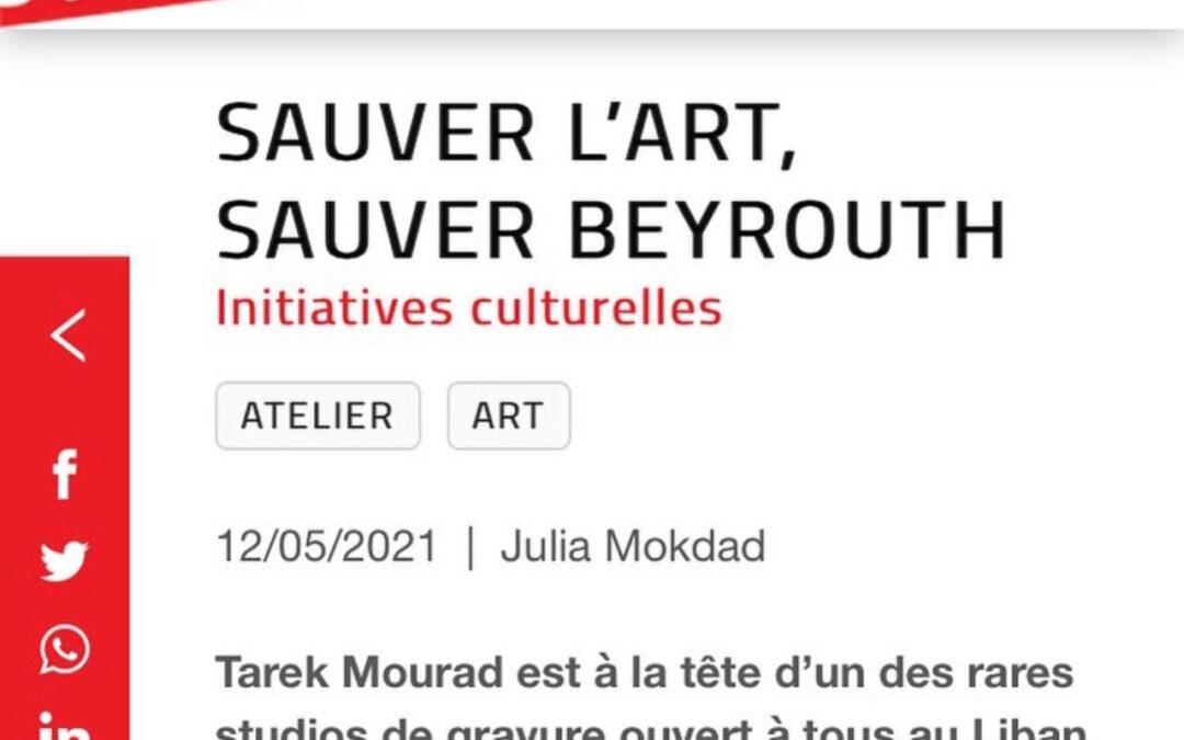 Agenda Culturel : Sauver l'art, Sauver Beyrouth